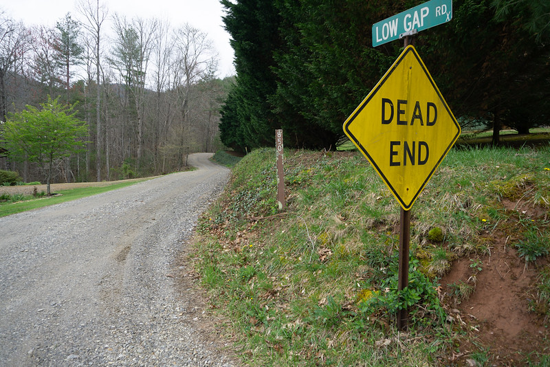 The trail head is on FR 850 in Union County.  There are several ways to get there but, here is the way I went.  Take Wolf Stake Road off Hwy 180 to Craig Gap.  Turn left (north).  In 0.4 miles, turn right (east) on Pine Top Road.  Low Gap road is 0.5 mile on the right.