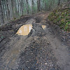 The worst of the mud holes.