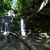 """With a huge overhang cave on one side, with favorable photography conditions, the picture of this waterfall would be a wall-hanger!     """"Tranquility Falls"""""""