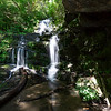 Your first reward is only a quarter mile away.!  At 50 feet, this waterfall is much higher than it appears in this picture
