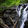 "MFI; Missing From the Internet ( Trying to avoid ""undocumented"", ""discovered"", ""found"" ....; etc).  Here are three waterfalls in areas  I am  exploring.  This  first waterfall is located at the 2600 foot level of Emory Branch in Rabun County.  Coordinates are 34.99255, -83.26188"