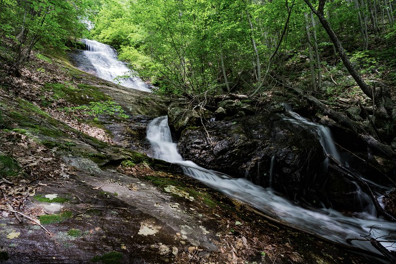 """It was a low-order bushwhack and in a quarter mile, or so, I came upon this beauty.  This is the same waterfall that Hiler shows in this video<br /> <a href=""""https://www.youtube.com/watch?v=FexNx3CuYgI"""">https://www.youtube.com/watch?v=FexNx3CuYgI</a>"""