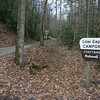 Unlike my visit in February, this time, the gate to the Low Gap Campground on Chattahoochee River Road (FR 44) is open.
