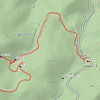 Here is what the GPS track looks like.  About five miles round trip counting the side trip to the base of the waterfall.