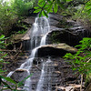 A very nice waterfall stashed away on a little known stream in Rabun County.