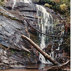 King Creek Falls, October 1993.  Recognize the log?  It was a nice day in the neighborhood!