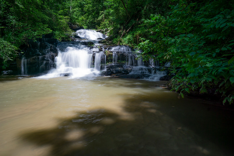 Sellers Falls.  On the Middle Fork Broad River;  LRWMA.