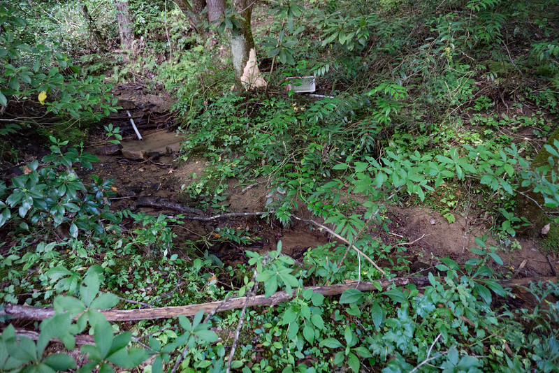 "By far, most of Stekoa Creek runs through private property.  However, the last mile and a half ( approximately) before it joins the Chattooga River, is on National Forest land.  There are two nice waterfalls on the upper part of that 1.5 miles.  See my hike to the lower falls here   <a href=""https://mtnimages.smugmug.com/Hiking-With-Mtnimages/Lower-Stekoa-Creek/"">https://mtnimages.smugmug.com/Hiking-With-Mtnimages/Lower-Stekoa-Creek/</a>   This hike describes a continuation of that hike  to the upper waterfall.   Just after the lower waterfall comes into view there is a feeder stream coming in on the left."