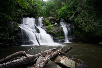 Upper Falls on Moccasin Creek
