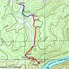 """Plotted on the more """"traditional"""" USGS Topo."""
