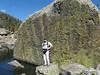 257 Tom at Lake Haiyaha, near Bear Lake