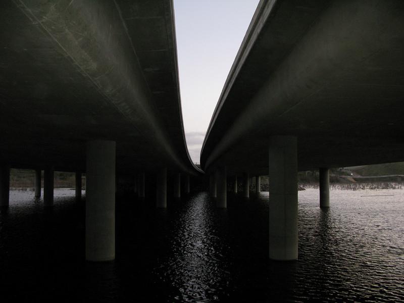 Under the I-15