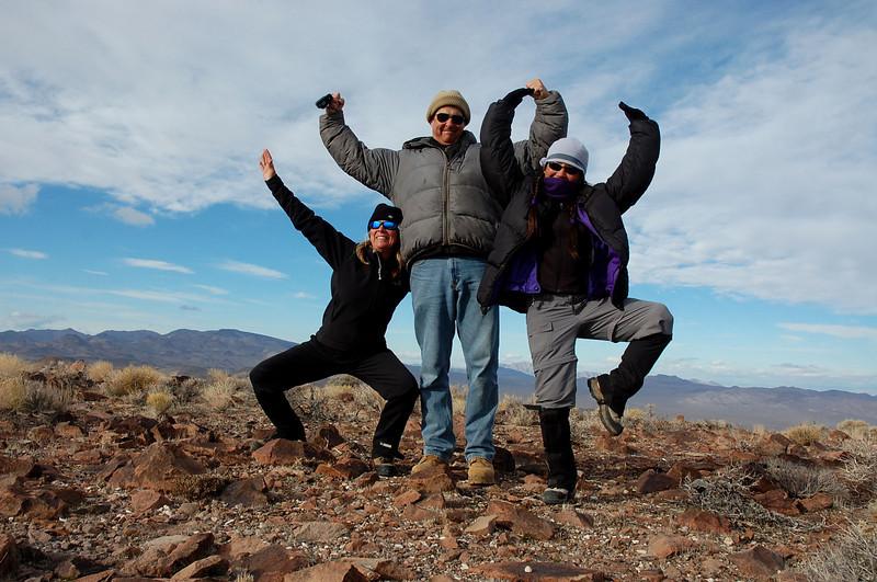 silly summit shot