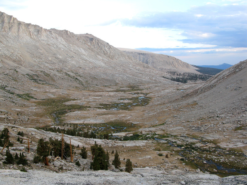 Climbed up to the ridge to look at where we had come form the day before- Miter Basin. Beautiful!!!