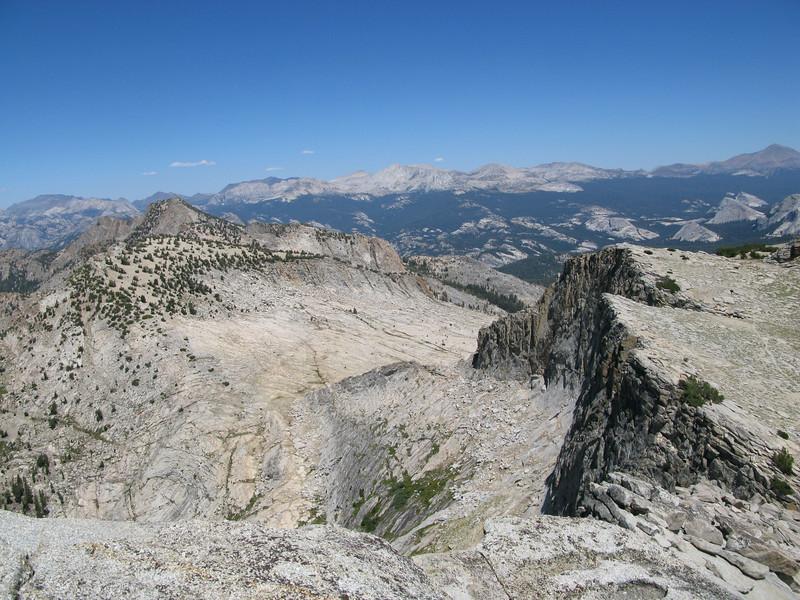 Tuolumne Peak (left)