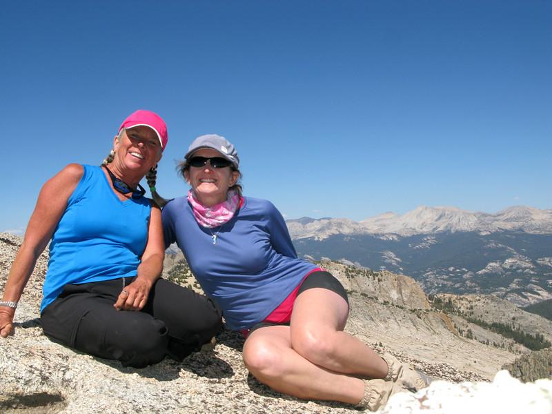 Pavla and I on the summit.