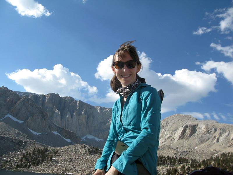 Erin at 4th Lake