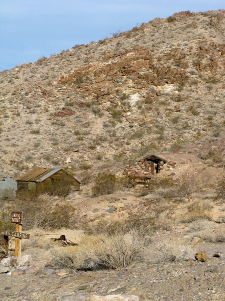 More of the Inyo Mine area
