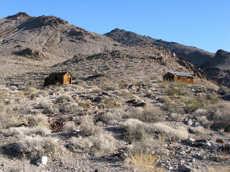 Inyo Mine structures