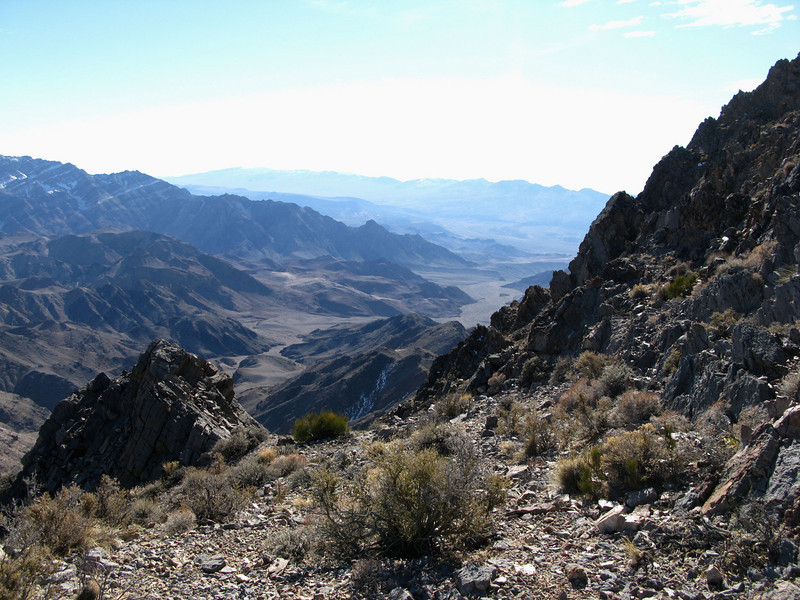 Nice valley between Pyramid and Schwaub.