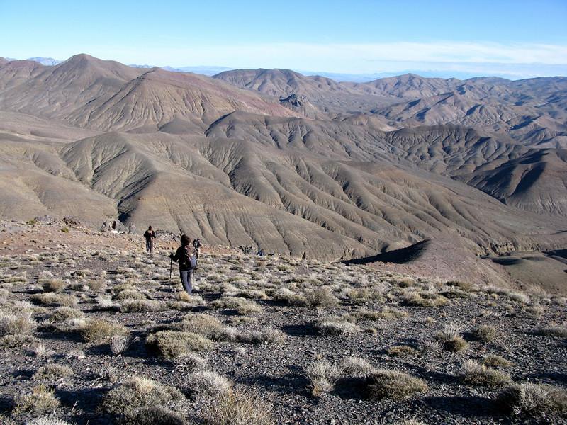 Down the ridge route