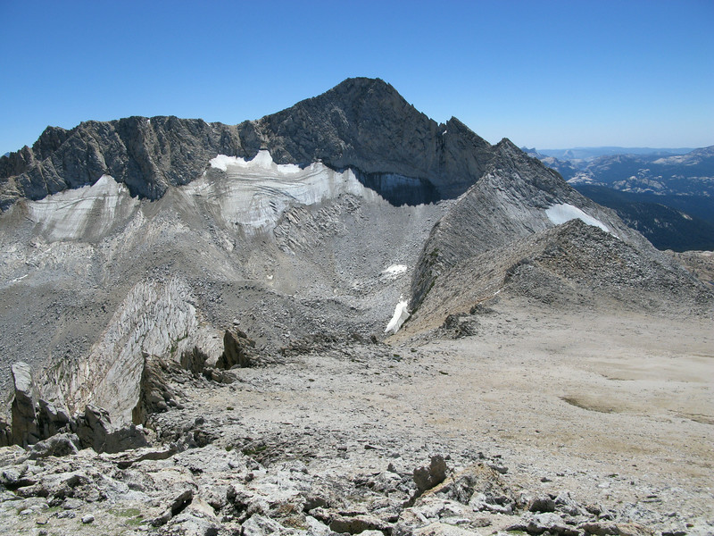 Another view of the ridge to Conness