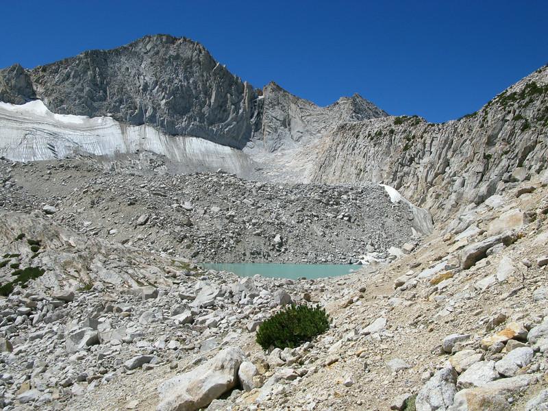 Highest lake.