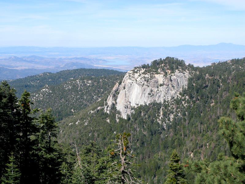 Suicide Rock from Devil's Slide Trail
