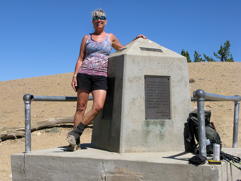 Me at the Monument on Baden-Powell