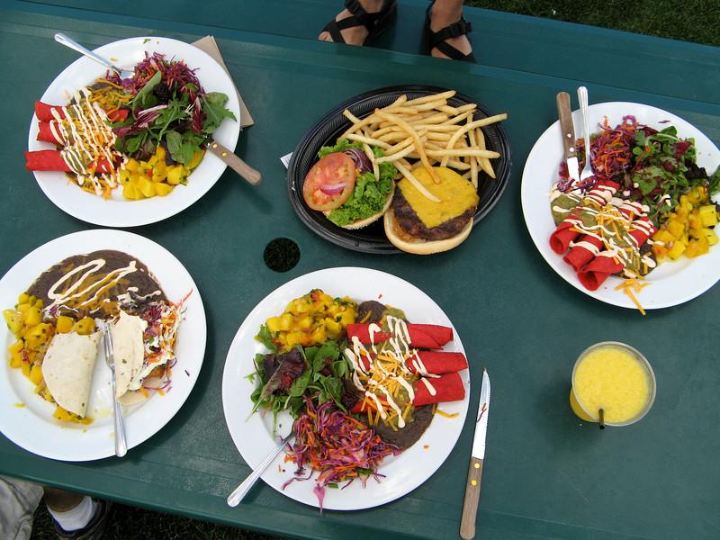 Lunch at Whoa Nellie Deli