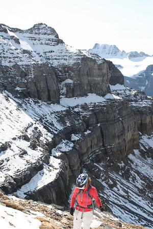 Climbing Mount Temple
