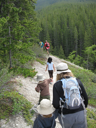 Hiking in Kanaskis