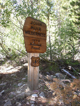 North Lake to Pine Creek   9-5-03