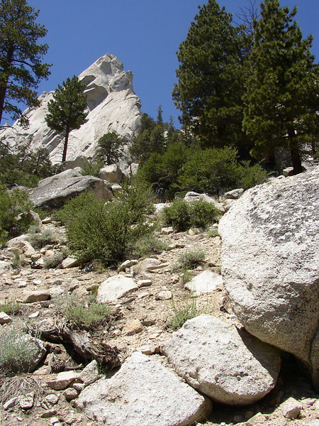 On the first day we hiked up the Mysan Lake Trail head.