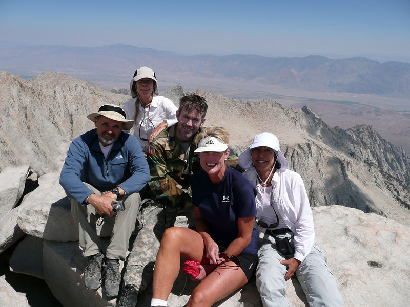 Bernie, Nancy, Eric, Patty and Leslie on the top.