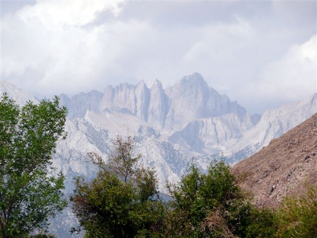 Our destination...Mt Whitney.<br /> Courtesy Nacy Ross