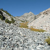 Lots of bolders and rocks on this hike.