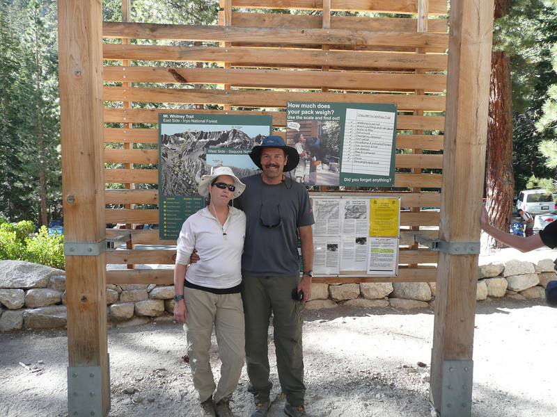 Linda and I at the Portal Trail Head