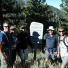 John, Laura, Jim, Myself and Aaron at the trail head.  Little did we know what we were in for.  (Courtesy John Patton)