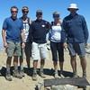 Group shot at the summit.  John, Aaron, Jim, Laura and Myself.  (Courtesy John Patton)