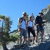 Posing on the ridge line.  (Courtesy John Patton)