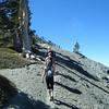 Heading up and around the West side of Dawson Peak.  (Courtesy John Patton)