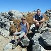 John and Aaron at the summit. (Courtesy John Patton)
