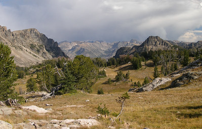 The Absaroka-Beartooth Wilderness is about one million acres in size, and lots of mountains to explore.