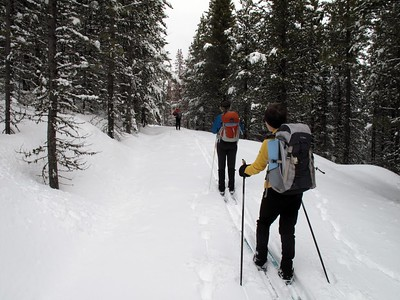 Langhor Ridge Loop SkiMar 2011