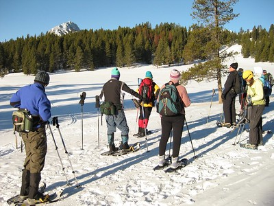 MWA Snowshoe Hike 17Jan09