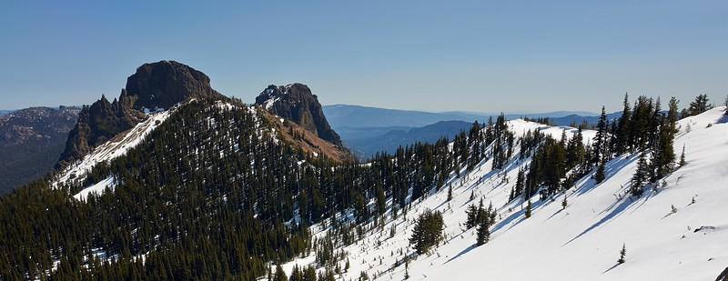 Fifes Peaks area - 4/18/2015