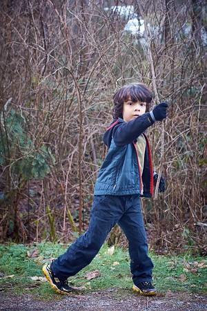 Hiking Taylor Mtn - 12/14/2014