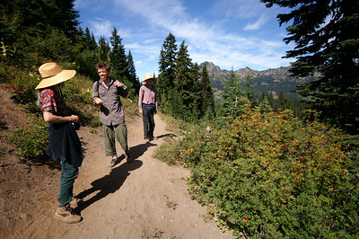 Hiking with Colin and our parents - September '06