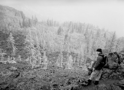 Ingalls Peak with Colin
